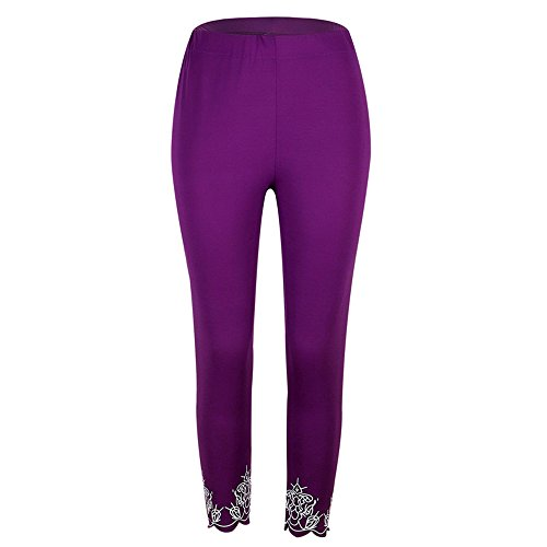 ZOMUSA Clearance Sales, Women Mid Waist Running Sport Workout Yoga Pants Fitness Elastic Leggings