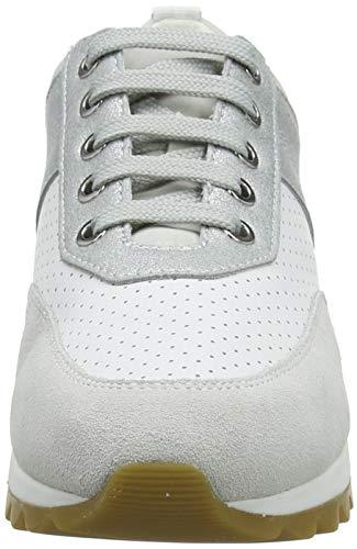 Geox C1343 B azure Tabelya Blanc Femme D Basketsbasses white TqUwgPB