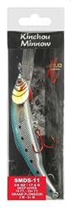 Matzuo Kinchou Minnow Bait, 4 3/4-Inch, Chromatic Shiner