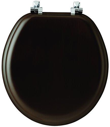 Mayfair 9601CP 888 Natural Reflections Veneer Toilet Seat wi