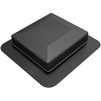 Duraflo 6050BL Roof Vent, 50 Square Inch, Black