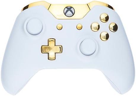 Controller - Piano White/Gold Buttons - Xbox One [Importación inglesa]: Amazon.es: Videojuegos