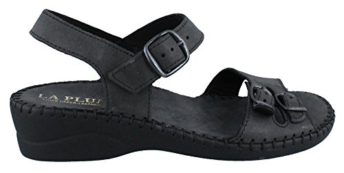Women's LaPlume, Jupiter Low Heel Sandal BLACK 39 M