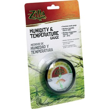 Humidity & Temperature Dial Gauge by R-Zilla