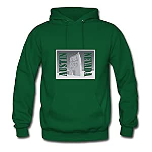 X-large Austin Nevada Tee Alpha Painting And Let You Handle It Style Personality Women Green Hoody