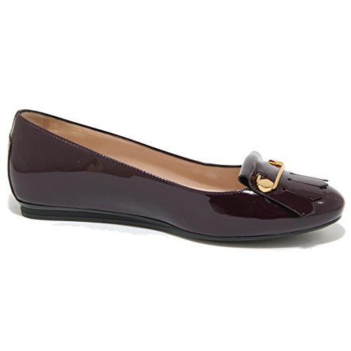 Lampone Scarpe Gomma Women Shoes Frangia Ballerina 0455O Donna Tod's ICwvxqAXEE
