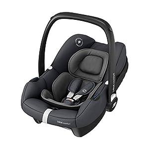BébéConfort Tinca, Siège Auto pour Bébé i-Size, Siège Auto Groupe 0+, de 45 à 75cm, 0 à 12kg, Essential Graphite (gris)