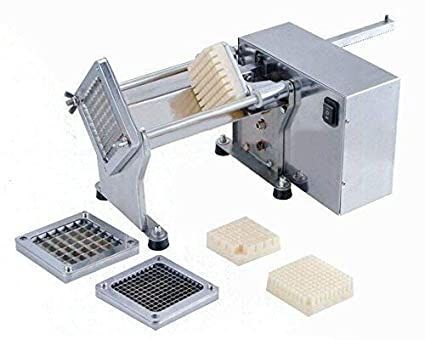 80e236bfb59 Automatic Potato Cutter - Electric Stainless Steel French Fries Cutter  Slicer Professional Fries Chips Maker Potatoes
