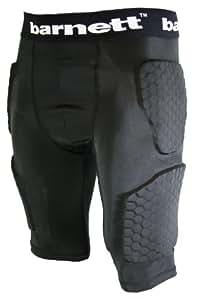 barnett Padded Compression Shorts FS-06 (Black, Youth XS (4XS))