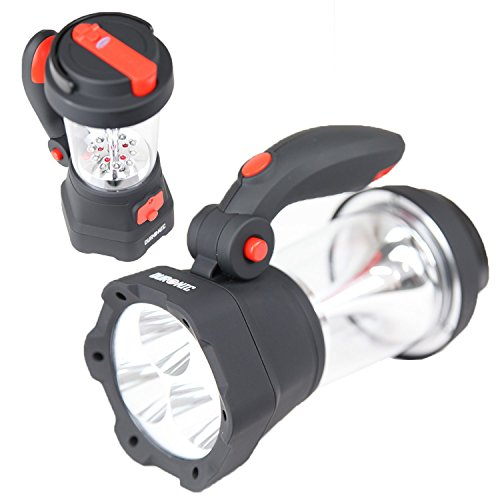 Duronic Hurricane 4 in 1 Rechargeable, Hand Crank, Self-p...