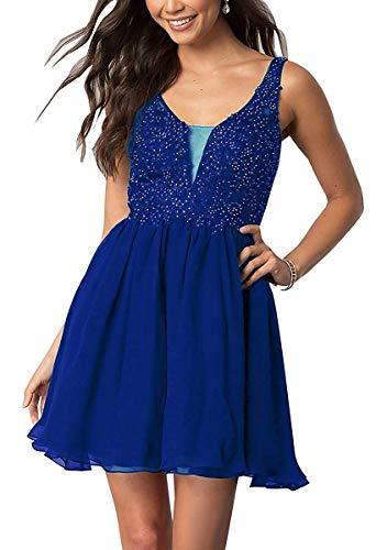 Vestito Blu Maniche Reale Senza Triangolo Beyonddress Donna dwq4fAd