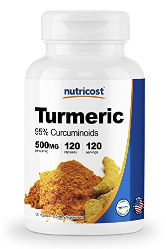 Nutricost Turmeric Curcumin Pills (95% Curcuminoids) 500mg, 120 Capsules With BioPerine Review