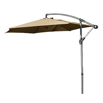 Amazon De Ziigo Sonnenschirm Rechteckig Ampelschirm 295m Schirm