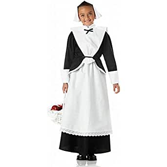 Amazon.com: Pilgrim Girl Child Costume: Toys & Games