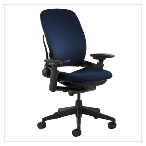 Steelcase Leap Task Chair: Adjustable Arms - No Headrest - H