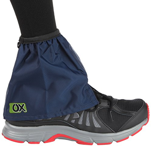 Ox Shoe Gaiters - Protects Shoes, Socks & Legs From Grit, Dirt, Sand, Grime, Thorns and Grass Cuts. Perfect To ALL Gardening, Farming & Outdoor Activities - Lightweight, Water Repellent, Breathable. (Footwear Gaiters)