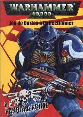 (Warhammer 40,000 Battle for Pandora Prime CCG - Space Marines Starter Deck)