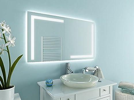 Bagno specchio con illuminazione korlin m l design specchio