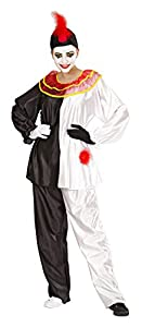 Roaring 20s Costumes- Flapper Costumes, Gangster Costumes Medium Mens Pierrot Costume $54.49 AT vintagedancer.com