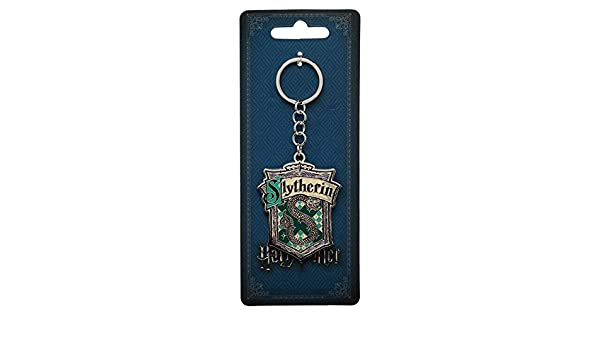 Bioworld - Harry Potter - Slytherin House Metal Llavero ...