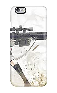 Iphone 6 Plus Women And Guns Anime Other Print High Quality Tpu Gel Frame Case Cover