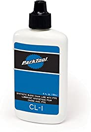 Park Tool CL-1 Synthetic Blend Chain Lube Bottle, 4-Ounce