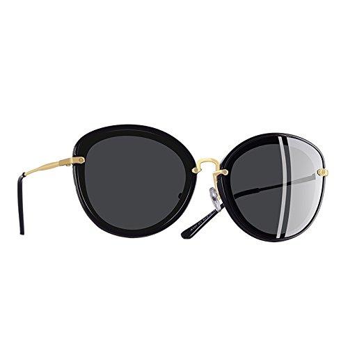 polarizadas C4 sol de Gato de de de Mujer TIANLIANG04 C1 Ojo Moda Mujer patas gafas metal gafas qwgqOTZ7