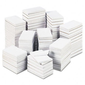 100 Sheet Five Pads - Universal 35623 Bulk Scratch Pads, Unruled, 3 x 5, White, 180 100-Sheet Pads/Carton