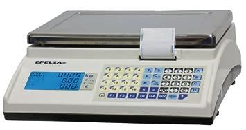 Balanza Sobre Mostrador Epelsa Mod. Marte 10 V4 IC de Bajo Consumo/Capacidad 15
