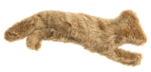 Castor and Pollux Red Rover Plush Au Naturel Series, Fox Dog Toy (Pack of 6), My Pet Supplies