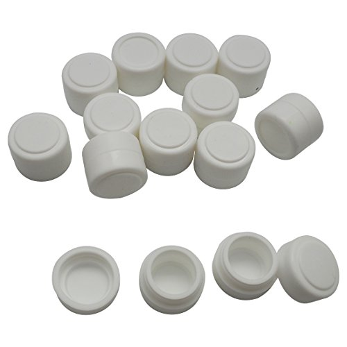 Gentcy Silicone 2ml 500pcs Containers Silicone Storage Jar Seals Oil Wax Concentrate 13color by Gentcy Silicone (Image #2)