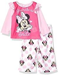 Disney Baby Girls Minnie Mouse 2-Piece Pajama Set