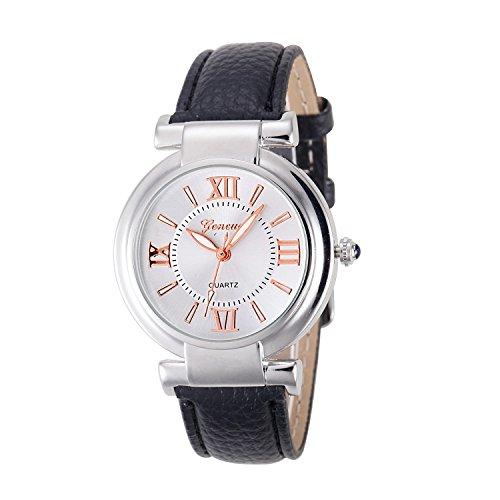 Relogio feminino Quartz Watch Women Girl Roman Numerals Leather Band Wrist Bracelet Watch Hot Selling Women watches Reloj mujer