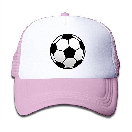 (NO4LRM Kid's Boys Girls Soccer Football Sport Youth Mesh Baseball Cap Summer Adjustable Trucker)