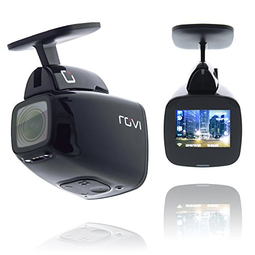 Rovi CL-6001 Full HD Dashcam, Magnetic Mounting, 1080P, 150° Viewing, Impact Detection, WiFI, GPS, Rovi App