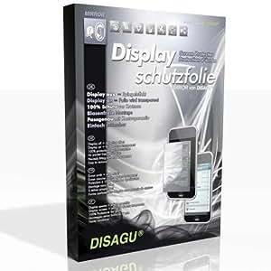 DISAGU Espejo protectores de pantalla para Samsung Midas - (efecto de espejo, montaje muy fácil, removible sin residuos)