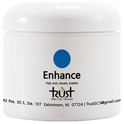 Enhance Skin Brightening Pads, 60 pads, contains Kojic Acid, Arbutin and Bearberry. Fade Away Acne Spots. (Brightening System Skin)