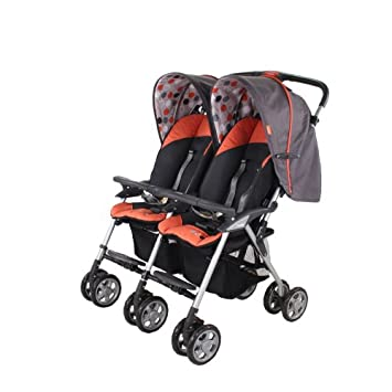 Amazon.com: Combi individual Sport 2 Side by Side carriola ...
