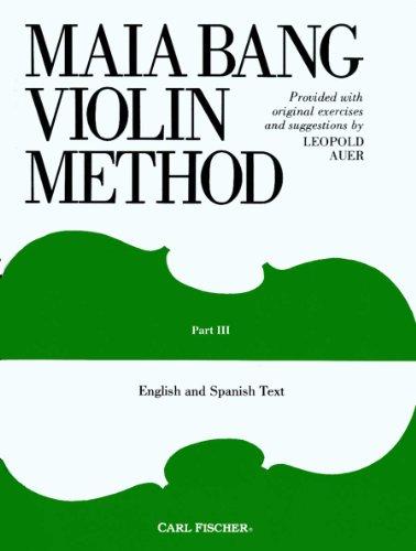 O44 - Maia Bang Violin Method, Part 3 (German Edition)