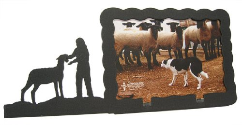 Innovative Fabricators, Inc. Show Lamb with Female 5X7 Horizontal Picture Frame