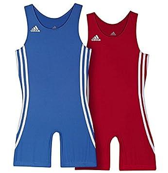 huge selection of 20f72 c1a8a Fightclub  Adidas Catcheur Pack Kids Rouge   Bleu Combinaison pour Homme  pour Enfant Kit