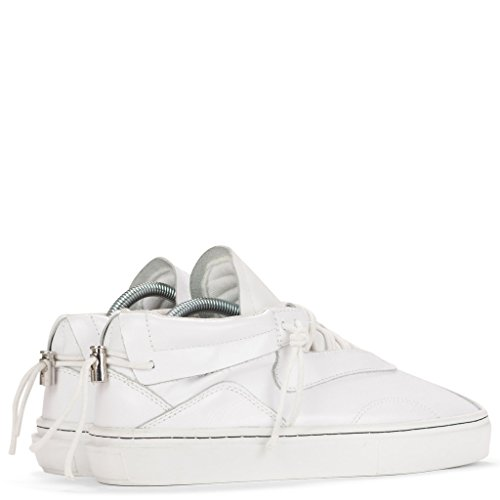 Clear Weather Everest Mid Top Shoes - White Leather - 8 Men's / 9.5 Women's