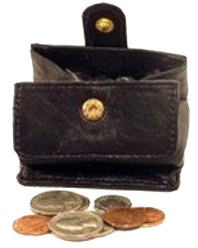 Geldbeutel oder Münzhalter wechseln Schwarz