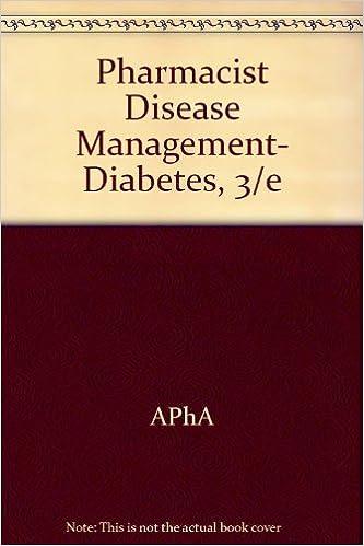Pharmacist Disease Management- Diabetes, 3/e