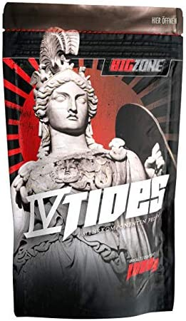 Big Zone 4 Tides | 4K - Mehrkomponent Proteine | Muskelaufbau, Protein, Whey, Shake1000g (Schoko Pudding)