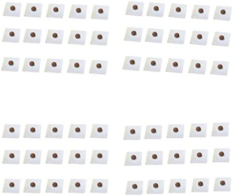 P Prettyia 60Pcs Noval Slim Patch Beifuß Navel Pad Sticker Entfernen Sie Fett