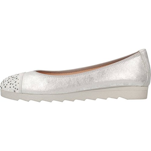 Plateado Modelo Plateado Color Zapatos HISPANITAS HISPANITAS Bailarina Bailarina Mujer Mujer HV86909 Plateado para Marca Zapatos para 14ZxqW