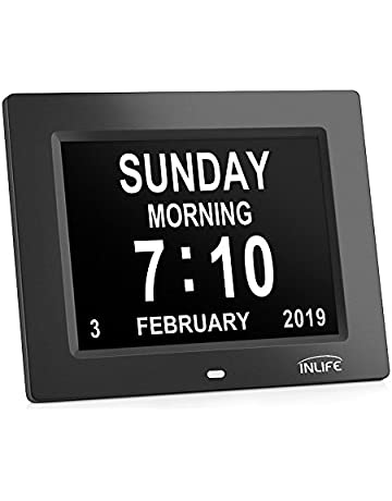 Clocks - Home Accessories: Home & Kitchen: Wall Clocks, Alarm Clocks