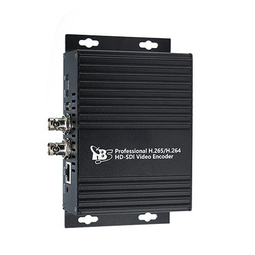 HD SDI Encoder, TBS 2600V1 H.264/H.265 Video Encoder Support HTTP, UDP, RTSP, RTMP, ONVIF Protocol for IPTV , Video Conference, Hotel TV system, Live Broadcast, Recording System