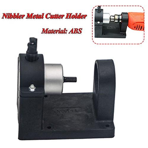 New Junda Double-Headed Nibbler Metal Cutter Holder Holder for Double Head Sheet Metal Nibbler Cutte...